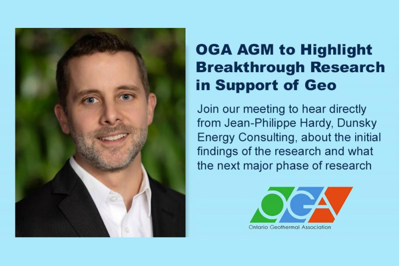 OGA AGM to Highlight Breakthrough Research in Support of Geo